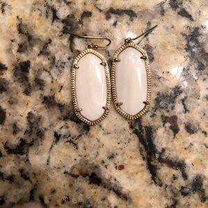 Elle gold drop Kendra Scott earrings
